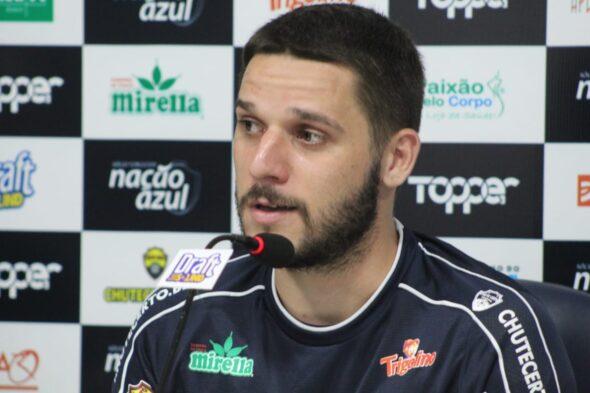 Daniel Vançan não pertence mais ao time do Remo - imagem: Samara Miranda/Ascom Remo
