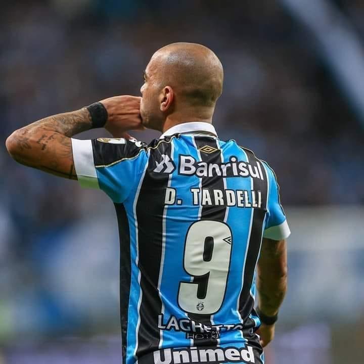 Diego Tardelli no Grêmio, Brasileirão