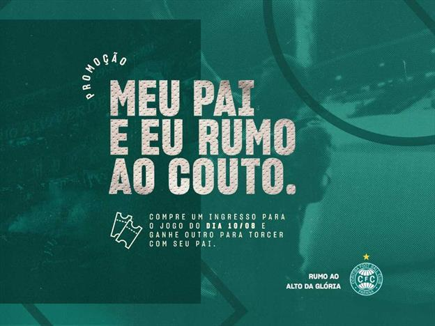 Coritiba faz promoção de dia dos pais para jogo contra o figueirense neste sábado