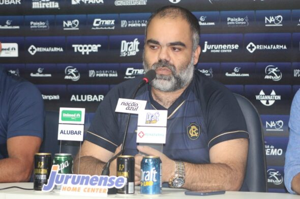 Fábio Bentes, presidente do Remo - foto: Samara Miranda/Ascom Remo