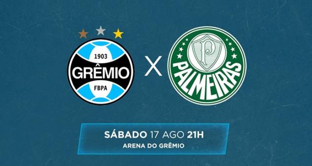 Grêmio x Palmeiras, Brasileirão 2019 (Reprodução/ Facebook Brasileirão)