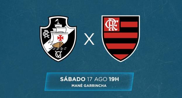 Vasco x Flamengo, Brasileirão 2019 (Reprodução/ Facebook oficial Brasileirão)