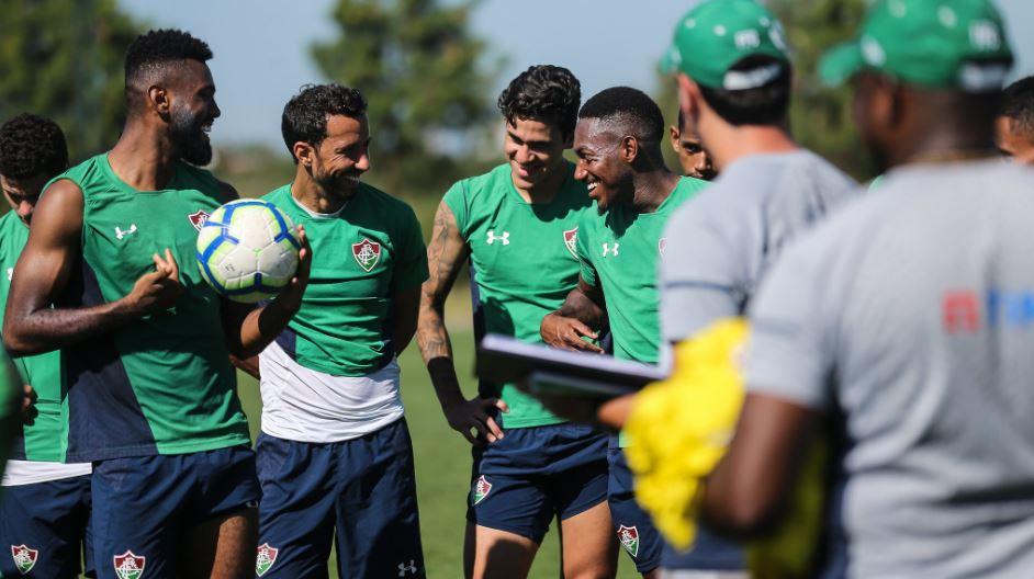 Fluminense inicia mais uma semana de treinamentos