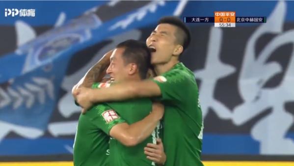 Beijing Guoan venceu e diminuiu diferença para o líder do Campeonato Chinês.