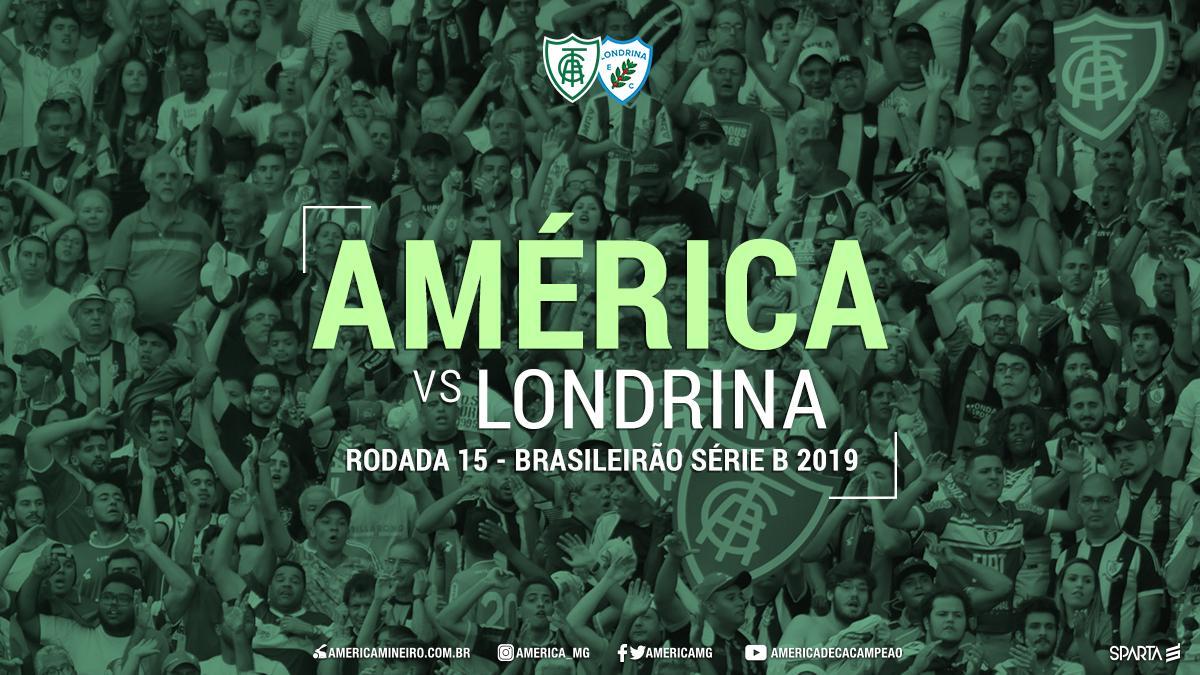 América-MG x Londrina