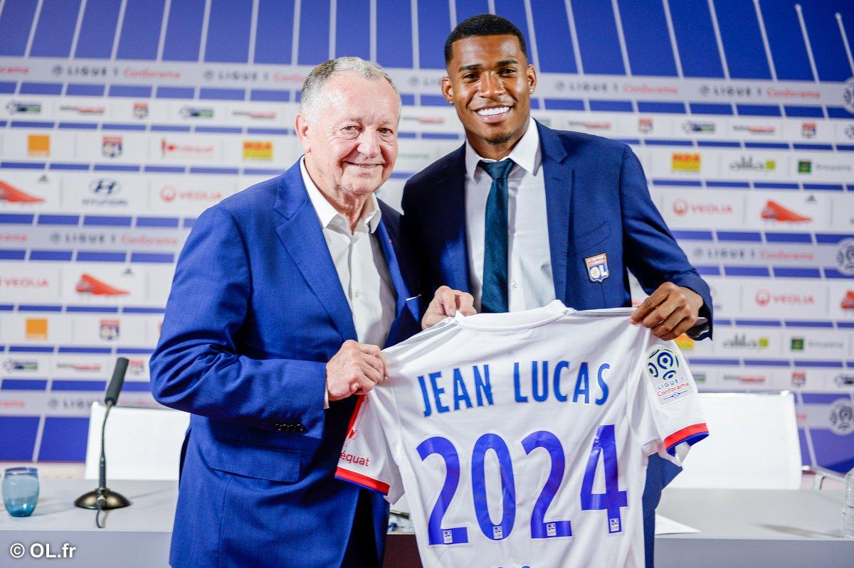 Jean Lucas estaria na mira do Atlético-MG e foi formado no Flamengo.