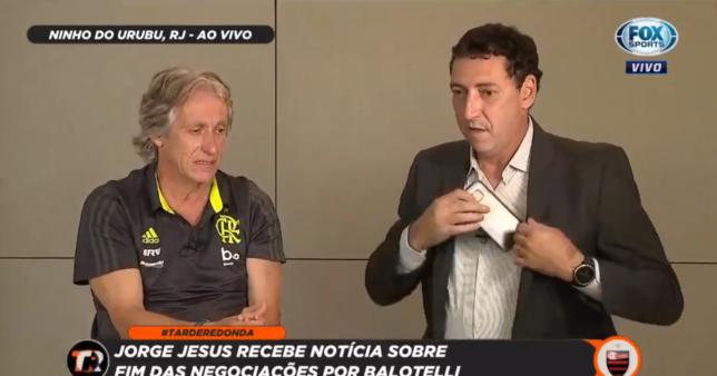 Jorge Jesus no FOX Sports