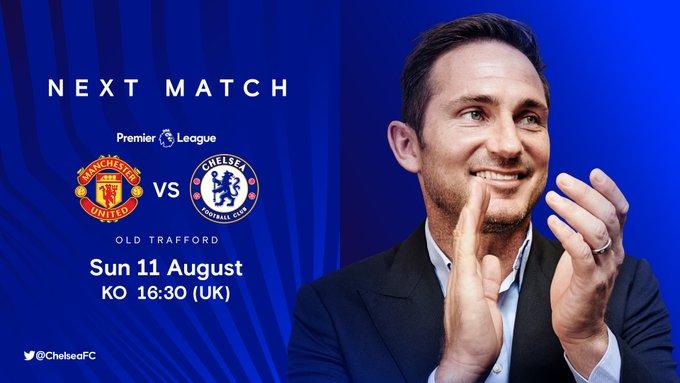 Manchester United x Chelsea - Premier League - Lampard