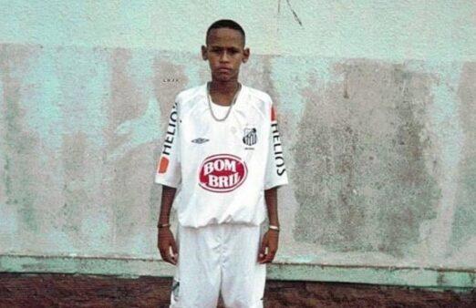 Neymar no Santos
