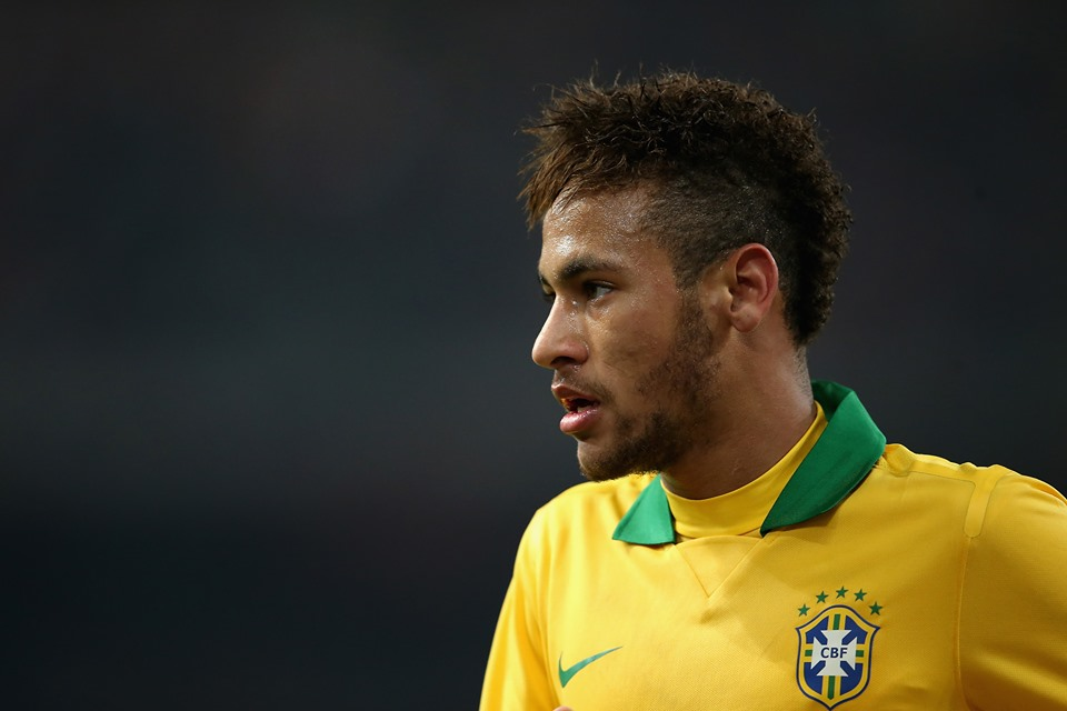 Neymar tem bons números pela seleção brasileira