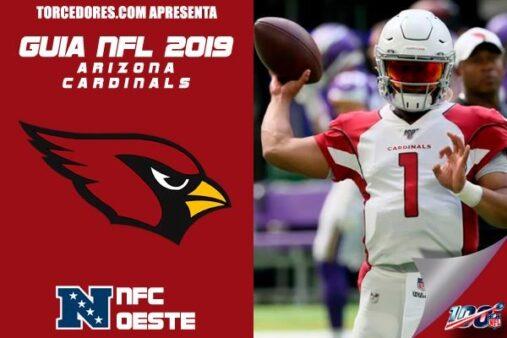 Cardinals inica a temporada regular da NFL no dia 8 de setembro