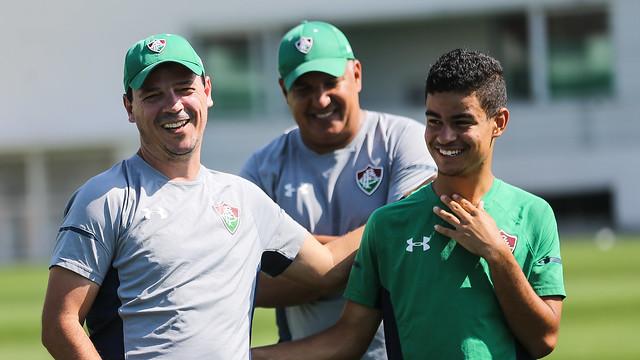 Notícias do Fluminense - treino CTPA