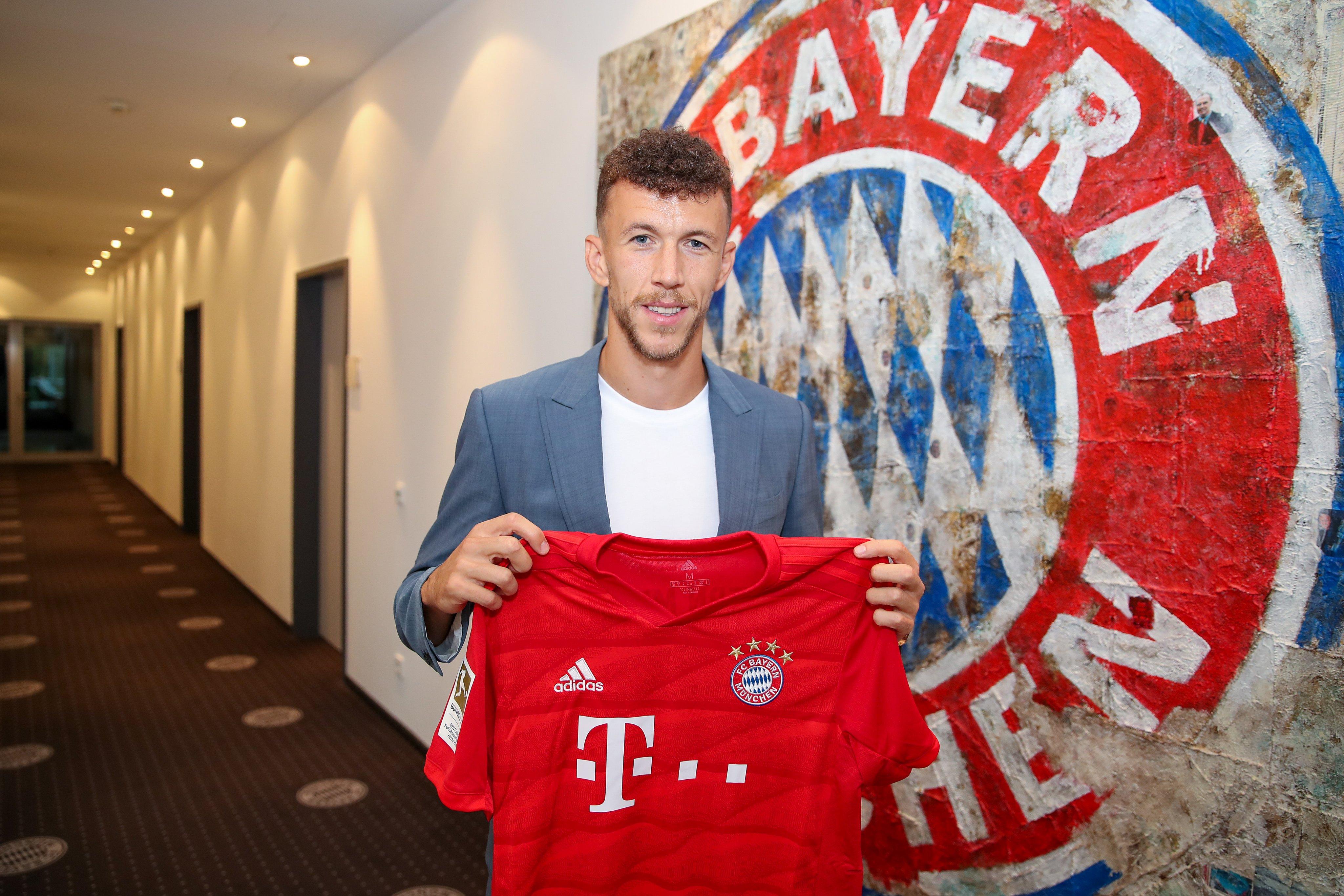 Perisic ex-jogadores Borussia Dortmund contratados Bayern