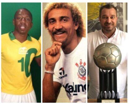 Jogando contra o câncer futebol