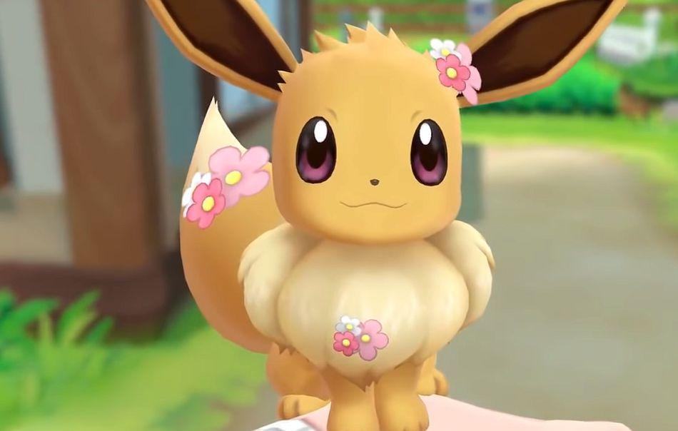Flower Eevee Pokemon Go