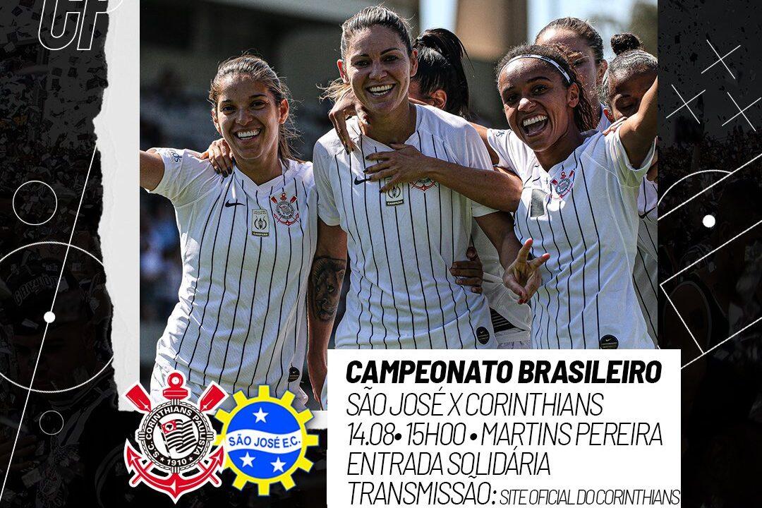 Provável escalação Corinthians x São José Brasileirão Feminino