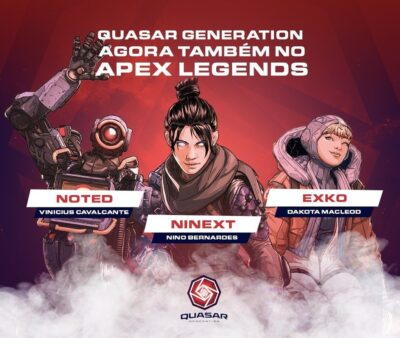 O time daQuasar Generation vai disputar oPreseason Invitational de Apex Legends