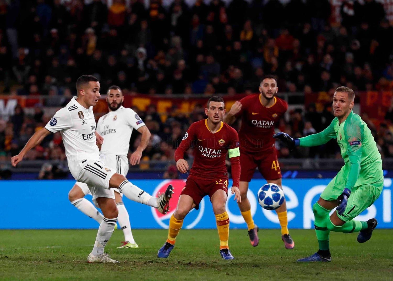 Roma x Real Madrid em 2018