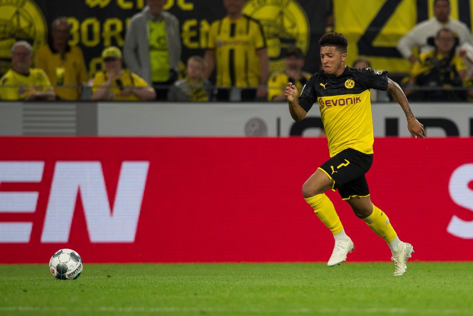 Sancho temporada Borussia Dortmund nosso ano