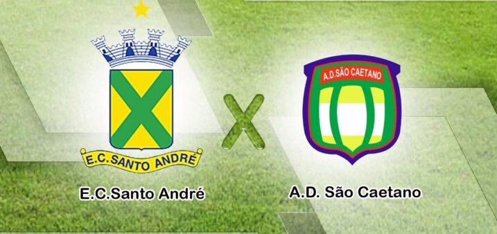 Santo André x São Caetano, Copa Paulista de 2019 (Reprodução/ Site oficial EC Santo André)