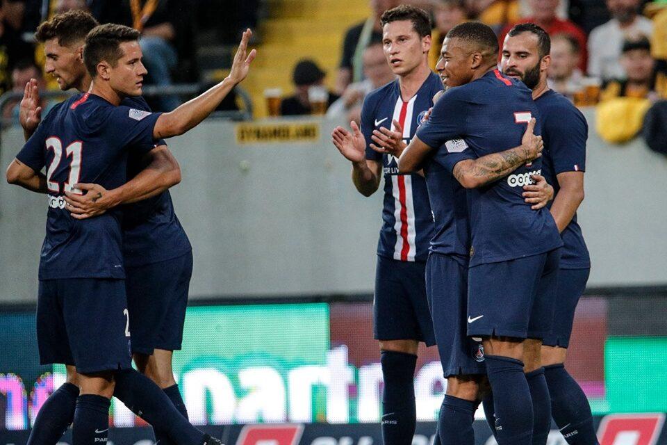Sem Neymar provável escalação PSG primeira rodada Campeonato Francês