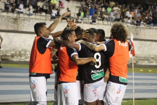 Remo celebra gol marcado na Série C