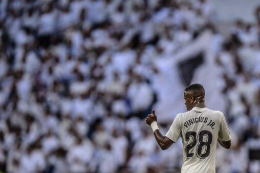 Vinicius Júnior tem sofrido com criticas no Real Madrid