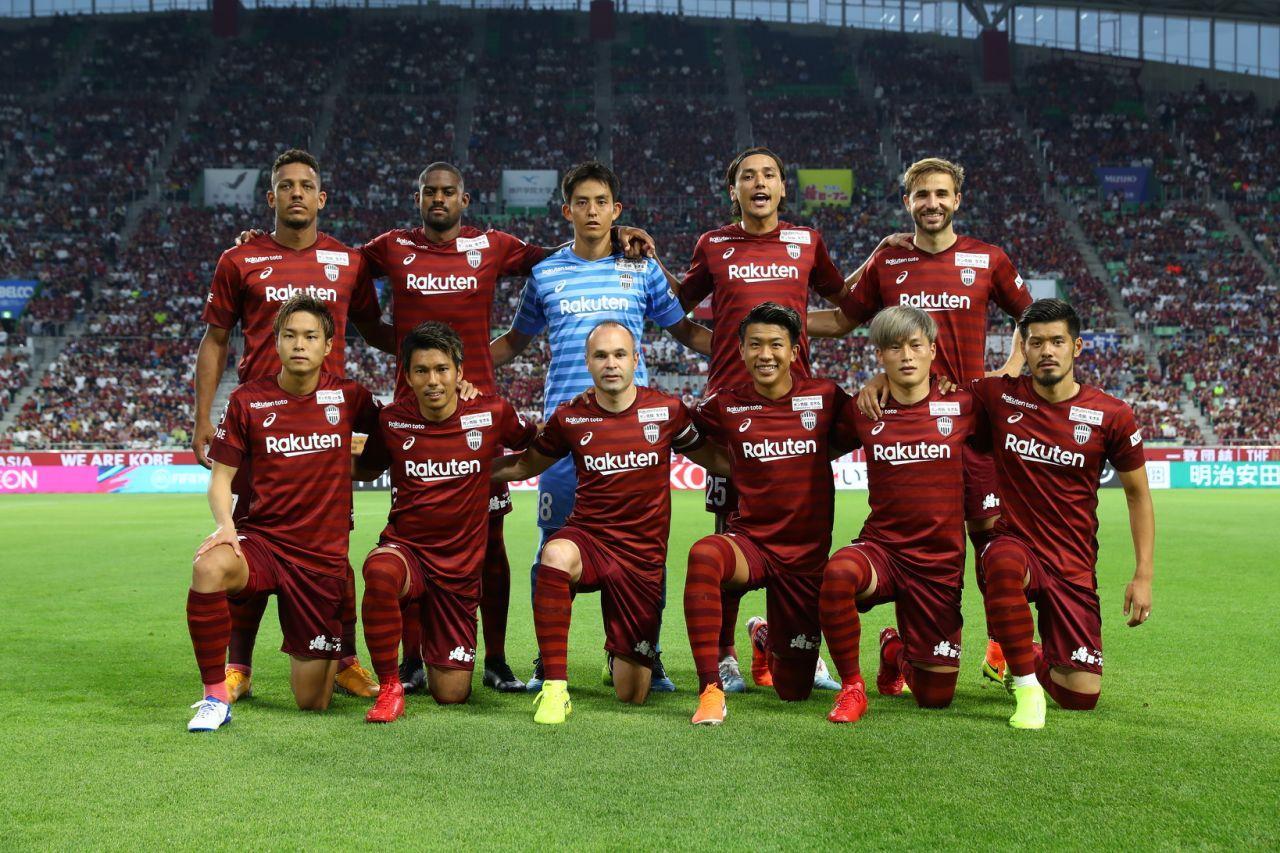 Iniesta foi importante para evitar derrota do Vissel Kobe no Campeonato Japonês.