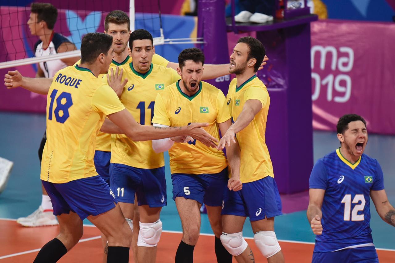No vôlei, Brasil enfrenta Cuba na semifinal do Pan 2019; confira agenda deste sábado (03)