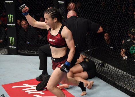 Weili Zhang UFC
