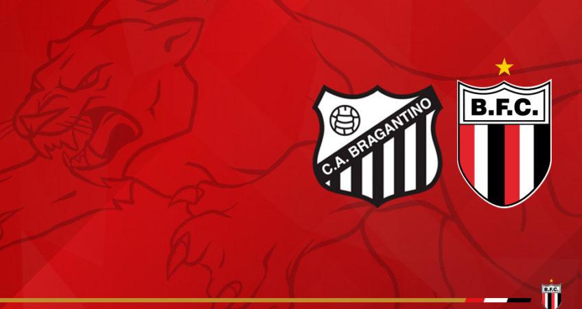 Bragantino x Botafogo - SP