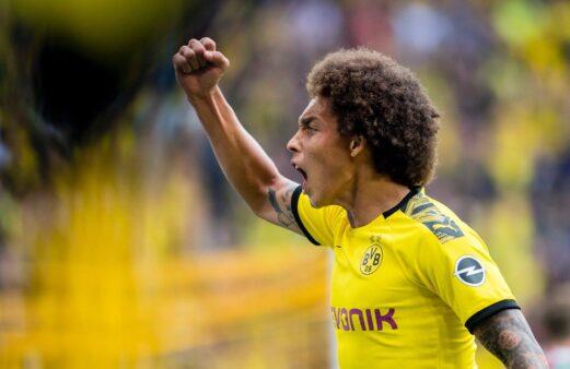 Witsel desempenho Borussia Dortmund melhores do que na última temporada