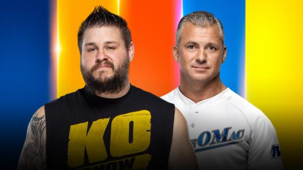 Kevin Owens vs. Shane McMahon