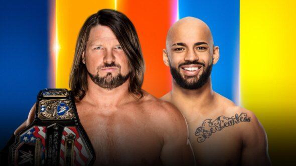 AJ Styles vs. Ricochet