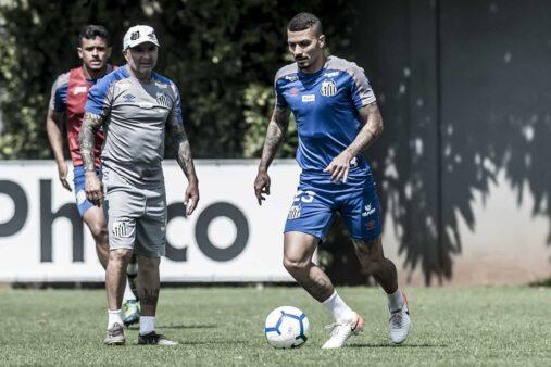 Santos time esboçado