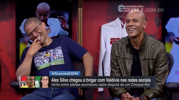 Alex Silva relembra quando machucou Valdivia e revela como 'treta' foi resolvida