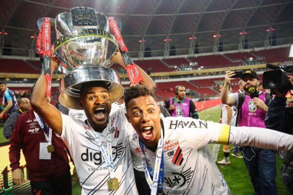 Athletico se sagrou campeão da Copa do Brasil sobre o Inter - Foto: Divulgação