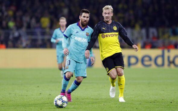 Messi entrou em campo contra o Borussia Dortmund - imagem: Miguel Ruiz/FC Barcelona