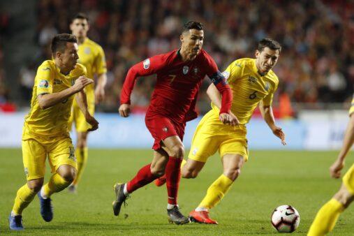 Cristiano Ronaldo não apresenta nenhuma lesão.