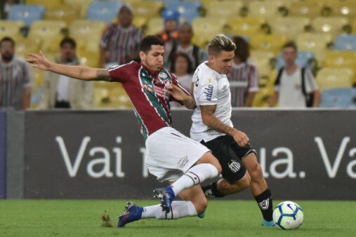 Fluminense 1 x 1 Santos, Brasileirão 2019 (Reprodução/ Twitter)