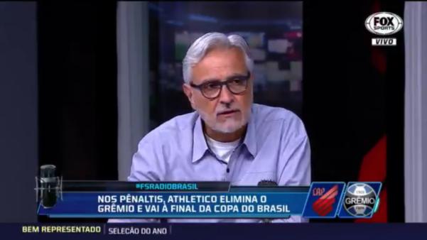 Fábio Sormani discordou de Renato Gaúcho