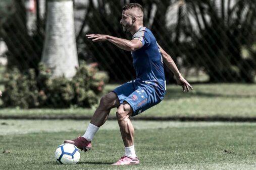 Lucas Venuto, atacante do Santos (Reprodução/ Facebook)