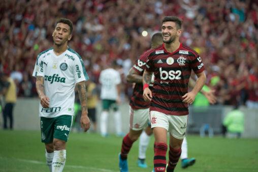 Flamengo x Palmeiras no Cartola