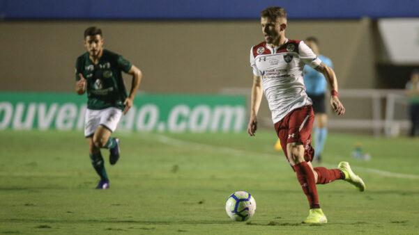 Caio Henrique na derrota do Fluminense para o Goiás por 3 a 0