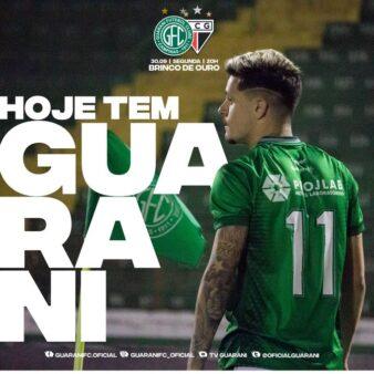Guarani x Atlético-GO - Brasileirão Série B