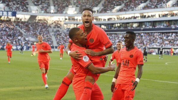 Gol de Neymar pelo PSG Futebol