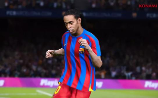 O novo uniforme do Ronaldinho Gaúcho será exclusivo para os jogadores que adquirirem a versão lendária do PES 20