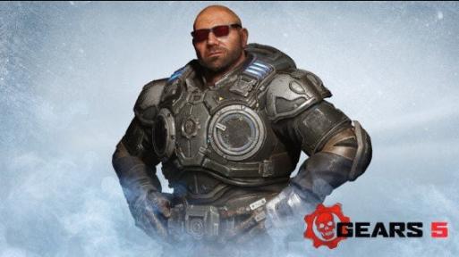 Dave Bautista, o Drax da Marvel, nunca escondeu o seu desejo de participar da franquia Gears of War