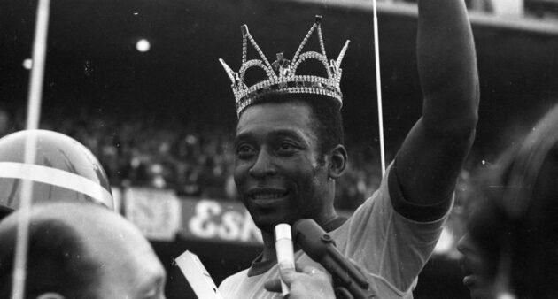 Pelé no Santos