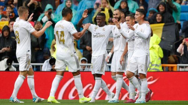 Real Madrid x Levante